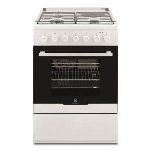 Cuisinière mixte ELECTROLUX - EKM60398OW