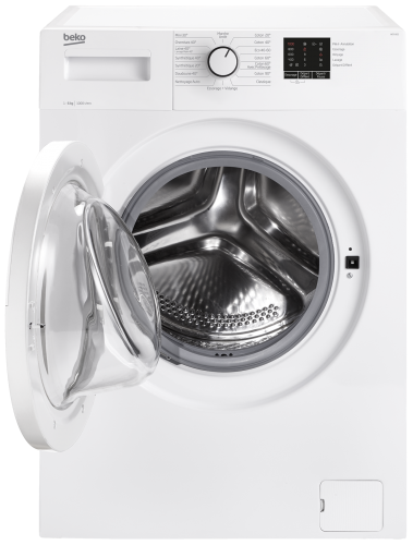 Lave-linge frontal BEKO - WCA161 tambour ouvert