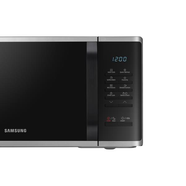 Micro-ondes solo SAMSUNG - MS23K3513AS tableau
